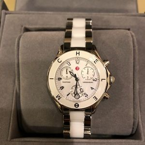 Used once! Ceramic Michele Watch